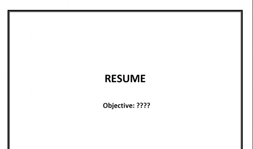 your resume is not a summary of your past a list of your skills or a history of your past experiences it is a print advertisement